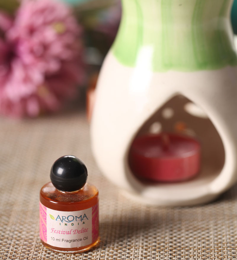 Aroma India Patchouli Festival Scented Oil Bottle  available at Pepperfry for Rs.79