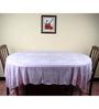 Aransa Rose Lace Pink PVC Table Cover
