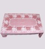 Aransa Rose Lace Red PVC Table Cover
