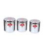 Aristo Silver Jar - Set of 3
