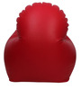 Arm Chair XXXL Bean Bag Cover without Beans in Red Colour by Sattva