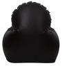Arm Chair XXXL Bean Bag with Beans in Brown Colour by Sattva