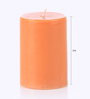 Aroma India Sandalwood Scented Pillar Candle