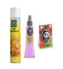 Aromatree 2-In-1 Citrus Limon Air Freshener & English Lavender Natural Spray with Cherry Blossom Pure Car Perfume