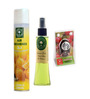 Aromatree 2-In-1 Citrus Limon Air Freshener & Lemon Grass Natural Spray with Cherry Blossom Pure Car Perfume