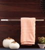 Arrow Metallic Brass Towel Rod