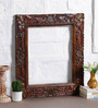 Art of Jodhpur Brown Solidwood  Decorative Mirror
