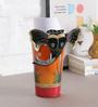 Art of Jodhpur Multicolor Solidwood  Vase