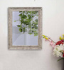 Art Street Grey Synthetic Wood Theresia Cave Wall Mirror