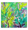 Art Zolo Canvas 12 x 12 Inch Minty Season Unframed Artwork Painting