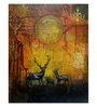 Art Zolo Canvas 24 x 30 Inch My Deer Unframed Artwork Painting
