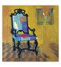 Art Zolo Canvas 30 x 30 Inch Chair Unframed Artwork Painting