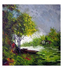 Art Zolo Canvas 36 x 36 Inch Journey of Nature Unframed Artwork Painting