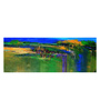 Art Zolo Canvas 41 x 15 Inch Long Nature Unframed Artwork Painting