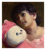 Art Zolo Canvas 9 x 10 Inch Dolly Unframed Artwork Painting