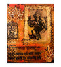 Art Zolo Canvas Board 8 x 10 Inch Ganesha Unframed Artwork Painting