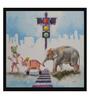 Art Zolo Paper 15 x 15 Inch Haati Mere Saathi Unframed Artwork Painting