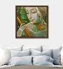 ArtCollective Canvas 20 x 20 Inch Untitled Framed Limited Edition Digital Art Print by Sukanta Das