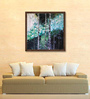 ArtCollective Canvas 24 x 24 Inch Magical Forest IV Framed Limited Edition Digital Art Print by Prerana Sharma