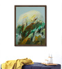 ArtCollective Canvas 25 x 30 Inch Untitled Framed Limited Edition Digital Art Print by Goutam Sarma