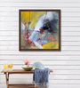 ArtCollective Canvas 27 x 27 Inch Untitled Framed Limited Edition Digital Art Print by Kashmira Rajpura