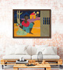 ArtCollective Canvas 28 x 19 Inch Untitled Framed Limited Edition Digital Art Print by Tapan Kar