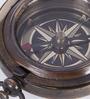 Artshai Brown Brass Antique Brown Magnetic Compass