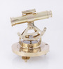 Artshai Gold Brass Nautical with Telescope & Magnetic Compass