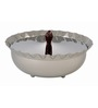 Arttdinox Small Shallow Serving Bowl with Facet