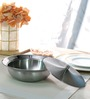Arttdinox Stainless Steel 300 ML Serving Bowl Small with Lid