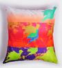 ARTychoke Multicolor Silk 12 x 12 Inch Bird Cushion Cover