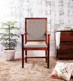 Morton Arm Chair in Honey Oak Finish by Woodsworth
