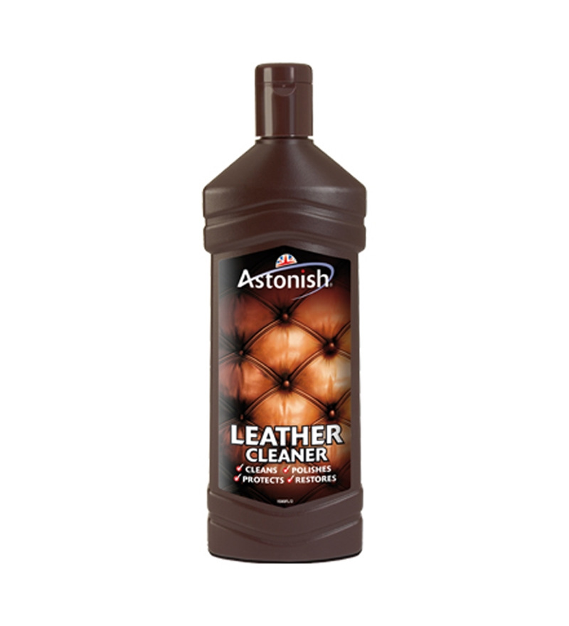astonish leather cleaner 235ml to clean leather sofas car seats briefcases by astonish online. Black Bedroom Furniture Sets. Home Design Ideas