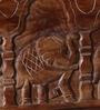 Nimilita Handcrafted Petika (Trunk ) in Provincial Teak Finish by Mudramark