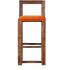 Asilo Bar Chair in in Provincial Teak Finish by Woodsworth