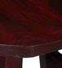 Harrington Bar Stool in Passion Mahogany Finish by Woodsworth
