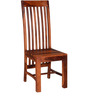 Aberdeen Dining Chair in Honey Oak Finish by Woodsworth