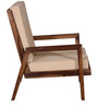 Kennewick One Seater Sofa in Provincial Teak Finish by Woodsworth