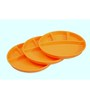 Asp Polyplast Orange Plastic Partition Plate - Set of 3