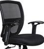 Aspire Medium Back Ergonomic Chair in Black Colour by HomeTown