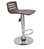 Aster Bar Chair in Coffee Brown Colour by Starshine