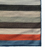 Asterlane Multicolour Woolen 96 x 60 Inch Stripes Rectangular Area Rug