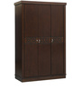Astra Three Door Wardrobe in Wenge Colour by HomeTown