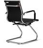 Astra Ergonomic Pu Chair Black by Hometown