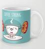 Astrode Coffee Strong Ceramic 325 ML Mugs