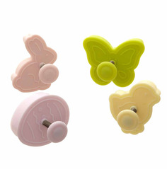 Ateco Easter Plastic Plunger Cutters Set of 4