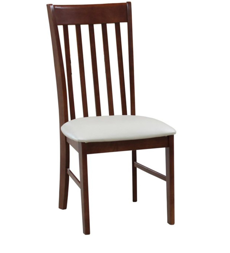 Atithi dining chair in medium brown colour by godrej interio by godrej interio online modern Godrej home furniture catalogue