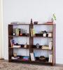 Maritsa Book Shelf in Provincial Teak Finish by Woodsworth