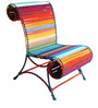 Athena Chair California Sunset Color by Sahil Sarthak Designs