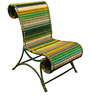 Athena Chair In Shades Of Green by Sahil Sarthak Designs
